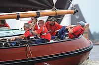 ZEILEN: FRYSLÂN: 2014, SKS skûtsjesilen, skûtsje Twee Gebroeders, Earnewâld, schipper Gerhard Pietersma, ©Martin de Jong