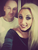 """Pictured: David Dallimore with girlfriend Zoe Miller<br /> Re: A Llanelli man's birthday greetings message cost him £600 – because he painted it on the road in his street.<br /> Llanelli Magistrates Court heard that on July 8, 2016, Carmarthenshire County Council received an anonymous report that a man living in Grant Street had written the message 'Happy Birthday Zoe M from Dai' on the road in large print.<br /> On July 14 an environmental enforcement officer and technical assistant called at David Nigel Dallimore's home in Grant Street. He admitted painting the message and agreed to accept a fixed penalty of £75.<br /> Dallimore failed to pay resulting in prosecution for making unauthorised marks on the highway. He was convicted in his absence last Friday.<br /> He was fined £220, and ordered to pay costs of £351 and a victim surcharge of £30.<br /> Executive board member for environmental and public protection Cllr Jim Jones said: """"Graffiti can be expensive to clear off as specialist products may have to be used to remove the paint in an environmentally-friendly way.<br /> """"The penalty imposed by the court recognised the seriousness of the matter and the expense incurred. Out of the costs awarded, £220 is going to pay for the cost of removing this message from the road.<br /> """"Keeping the county clean and safe is a key priority for the council and we will not hesitate to take action against those that break the law."""""""