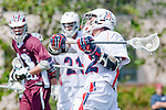 Los Angeles, CA 03/20/10 - Mike Hook (Arizona # 2) in action during the Arizona-Loyola Marymount University MCLA game at Leavey Field (LMU).  LMU defeated Arizona 13-6.