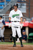 July 30, 2009:  First Baseman Dustin Dickerson of the Jamestown Jammers  during a game at Russell Diethrick Park in Jamestown, NY.  The Jammers are the NY-Penn League Short-Season Single-A affiliate of the Florida Marlins.  Photo By Mike Janes/Four Seam Images