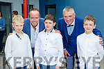 Ray O'Sullivan and special guest Aidan O'Connor with Joe Horan, Cathal Sheehan and Timmy Keane at the Drama class Graduation in Killarney School of Music on Friday evening