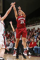 STANFORD, CA - JANUARY 30:  Rosalyn Gold-Onwude of the Stanford Cardinal during Stanford's 83-62 win over Arizona on January 30, 2010 at Maples Pavilion in Stanford, California.