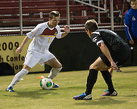 The Winthrop University Eagles beat the UNC Asheville Bulldogs 4-0 to clinch a spot in the Big South Championship tournament.  Patrick Barnes (11), Andrew Sotak (3)