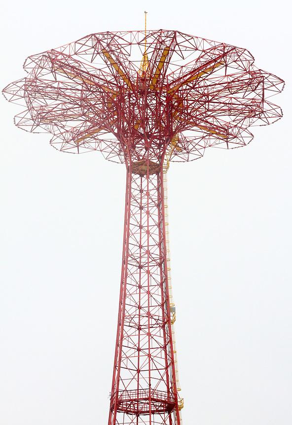 1936 worlds fair parachute jump on coney island