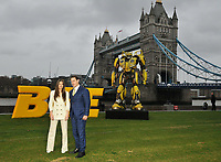 Hailee Steinfeld and John Cena at the &quot;Bumblebee&quot; film cast photocall, Potters Fields Park, Tower Bridge Road, London, England, UK, on Wednesday 05 December 2018.<br /> CAP/CAN<br /> &copy;CAN/Capital Pictures