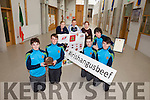 Transition Year students from CBS The Green are the only school in Kerry to qualify in the final of the Certified Irish Angus Schools Competition. Pictured were: Students Hugh Healy and Darragh Regan, teachers Eilín Enright, Anto Cronin and Ger O'Shea and students Darragh O'Brien, Michael Scanlon and Rory Rutledge.