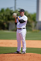 Detroit Tigers Mitchell Stalsberg (72) during a Minor League Spring Training game against the Toronto Blue Jays on March 22, 2019 at the TigerTown Complex in Lakeland, Florida.  (Mike Janes/Four Seam Images)