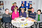 Daffodil Day: Staff of the Revenue Commissioners Office in Listowel who donated their lunch cost to the daffodil day collection. The food was supplied by the parents council of the Gaelscoil, Listowel. Front : John McMonagle, Margaret O'Connell, Catherine Collins, Eddie Collins & Anne Cronin. Back Gaelscoil members Pat Dunne, Martina Swift &  Miriam O.Callaghan.