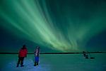 Aurora Display Talkeetna River 120124