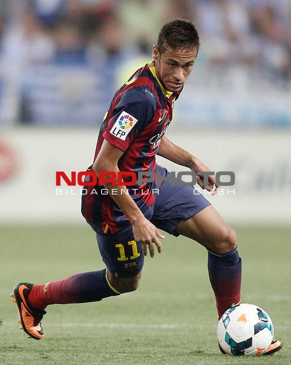 FC Barcelona's Neymar Santos Jr during La Liga match.August 25,2013. Foto © nph / Acero)