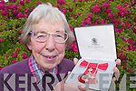 HONOUR: Sr. Joan ODonoghue (Clonkeen, Glenflesk) with her MBE medal which she received for all her charity work in England..