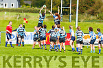 Action from Tralee v Shannon in the Ladies Munster league in O'Dowd Park on Sunday.