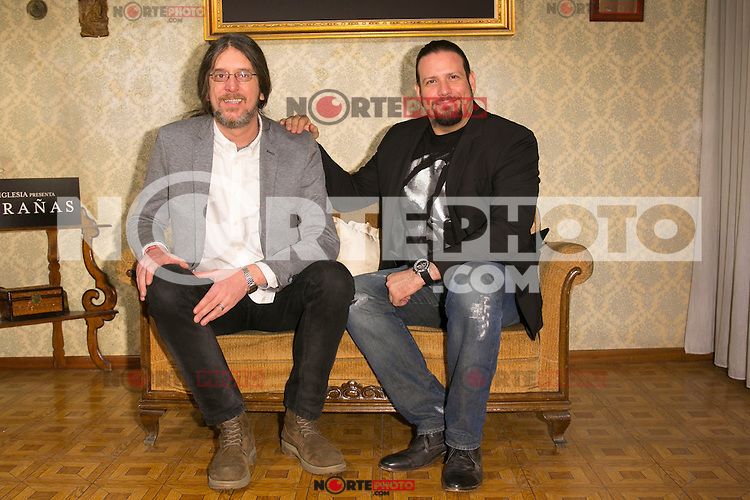 "Esteban Roel and Juanfer Andres attend the presentation of the movie ""Musaranas"" in Madrid, Spain. December 17, 2014. (ALTERPHOTOS/Carlos Dafonte) /NortePhoto /NortePhoto.com"