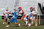 Philadelphia Barrage vs Los Angeles Riptide.Home Depot Center, Carson California.Mike Watson (#4) Brian Dougherty (#6) Matt Zash (# 44).766G8671.JPG.CREDIT: Dirk Dewachter