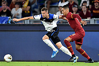 Josip Ilicic of Atalanta BC , Chris Smalling of AS Roma <br /> Roma 25-9-2019 Stadio Olimpico <br /> Football Serie A 2019/2020 <br /> AS Roma - Atalanta Bergamasca Calcio <br /> Foto Andrea Staccioli / Insidefoto
