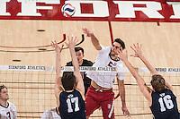 Stanford, CA; Thursday February 23, 2017;  Men's Volleyball vs BYU;  BYU won 3 sets to 0.