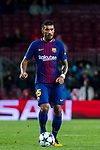 Jose Paulo Bezerra Maciel Junior, Paulinho, of FC Barcelona in action during the UEFA Champions League 2017-18 match between FC Barcelona and Olympiacos FC at Camp Nou on 18 October 2017 in Barcelona, Spain. Photo by Vicens Gimenez / Power Sport Images