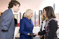 06/02/2020 - Maggie Centre Head Bryn Thomas gives Camilla Duchess of Cornwall a tour around the facilities during a visit to Maggies at The Royal Marsden in Sutton, Greater London. Photo Credit: ALPR/AdMedia