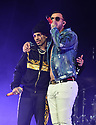 CORAL GABLES, FL - FEBRUARY 22: Rauw Alejandro and Lyanno performs on stage during '2020 Vibra Urbana Music Fest' at Watsco Center on February 22, 2020 in Coral Gables, Florida. ( Photo by Johnny Louis / jlnphotography.com )