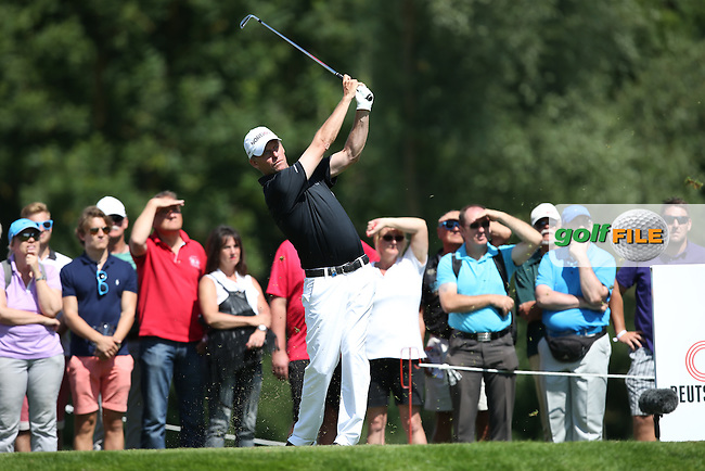 Anders Hansen (DEN) on the 12th tee during Round Two of the 2015 BMW International Open at Golfclub Munchen Eichenried, Eichenried, Munich, Germany. 26/06/2015. Picture David Lloyd | www.golffile.ie