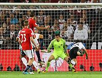 goal, Tor zum 6:0 für Mario Gomez (Deutschland Germany) - 04.09.2017: Deutschland vs. Norwegen, Mercedes Benz Arena Stuttgart