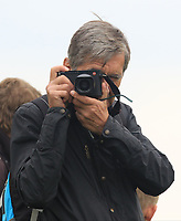 A budding photographer at the 8th tee during Round 3 of the D+D Real Czech Masters at the Albatross Golf Resort, Prague, Czech Rep. 02/09/2017<br /> Picture: Golffile | Thos Caffrey<br /> <br /> <br /> All photo usage must carry mandatory copyright credit     (&copy; Golffile | Thos Caffrey)