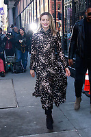NEW YORK, NY - FEBRUARY 5: Taylor Schilling  at BUILD SERIES on February 5, 2019 in New York City. <br /> CAP/MPI99<br /> ©MPI99/Capital Pictures
