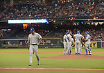 Yu Darvish (Rangers),<br /> AUGUST 9, 2014 - MLB : Yu Darvish of the Texas Rangers walks back to the dugout in the fifth inning during the Major League Baseball game against the Houston Astros at Minute Maid Park in Houston, Texas, USA.<br /> (Photo by AFLO)