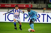 VOETBAL: HEERENVEEN: Abe Lenstra Stadion, SC Heerenveen - Ajax, 11-01-2012, Eindstand 0-5, Filip Djuricic (#11), Jody Lukoki (#37), ©foto Martin de Jong