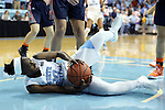 20 November 2016: North Carolina's Jamie Cherry grabs a loose ball. The University of North Carolina Tar Heels hosted the Bucknell University Bisons at Carmichael Arena in Chapel Hill, North Carolina in a 2016-17 NCAA Women's Basketball game. UNC won the game 65-50.