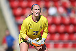 15 October 2016: Florida State's Cassie Miller. The North Carolina State University Wolfpack hosted the Florida State University Seminoles at Dail Soccer Field in Raleigh, North Carolina in a 2016 NCAA Division I Women's Soccer match. FSU won the game 1-0.
