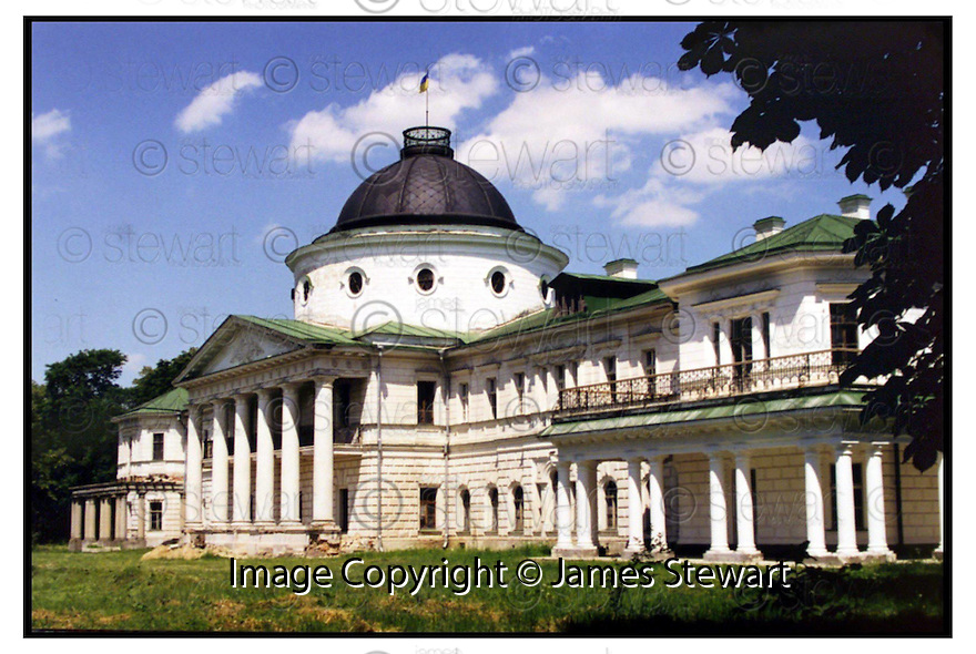 26th January 2001    Copyright Pic : James Stewart .Ref :                         .File Name : stewart01-tarnovsky                        .THE KACHANOVKA PALACE NEAR KIEV.....Payments to :-.James Stewart Photo Agency, Stewart House, Stewart Road, Falkirk. FK2 7AS      Vat Reg No. 607 6932 25.Office : 01324 630007        Mobile : 0421 416997.E-mail : jim@jspa.co.uk.           : jim@jamesstewart.co.uk.If you require further information then contact Jim Stewart on any of the numbers above.........