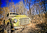 Nambe Studebaker Truck - New Mexico - Old Trucks