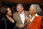From left: Saundria Gray, Ed Smith and Jackie Martin at the Houston Museum of African American Culture held at the Ensemble Theater Thursday Oct. 22,2009. (Dave Rossman/For the Chronicle)