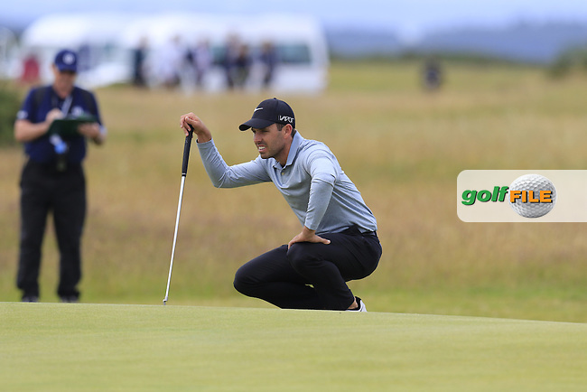 Charl Schwartzel (RSA) on the 14th green during Sunday's Round 3 of the 144th Open Championship, St Andrews Old Course, St Andrews, Fife, Scotland. 19/07/2015.<br /> Picture Eoin Clarke, www.golffile.ie