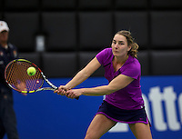 December 189 2014, Rotterdam, Topsport Centrum, Lotto NK Tennis, Danielle Harmsen (NED)<br /> Photo: Tennisimages/Henk Koster