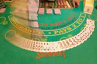 Slot Machines at the Showboat Mardi Gras Casino, Atlantic City, New Jersey