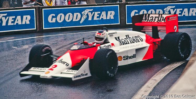 Stefan Johansson, McLaren MP4-3, Detroit 1987