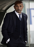 Calcio, Serie A: SS Lazio vs Internazionale Milano, Olympic stadium, Rome, October 29, 2018.<br /> Inter's coach Luciano Spalletti prior to the Italian Serie A football match between SS Lazio and Inter Milan at Rome's Olympic stadium, on October 29, 2018.<br /> UPDATE IMAGES PRESS/Isabella Bonotto