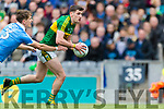 Paul Geaney Kerry in action against Michael Fitzsimons Dublin at the National League Final in Croke Park on Sunday.