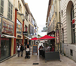 VMI Vincentian Heritage Tour: Street scenes in Dax, Saturday, June 25, 2016, one of France's most popular destinations for hot springs and thermal spas. (DePaul University/Jamie Moncrief)
