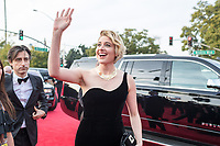 Nominated for BEST SCREENPLAY &ndash; MOTION PICTURE for &quot;Lady Bird,&quot; Greta Gerwig attends the 75th Annual Golden Globes Awards at the Beverly Hilton in Beverly Hills, CA on Sunday, January 7, 2018.<br /> *Editorial Use Only*<br /> CAP/PLF/HFPA<br /> &copy;HFPA/PLF/Capital Pictures