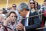 Adolfo Suárez Illana, politician and Spanish lawyer. He is the son of Maria Amparo Illana Elórtegui and the president of the Spanish Government Adolfo Suarez Gonzalez during the bullfight Press. May 20 ,2015. (ALTERPHOTOS/Acero)