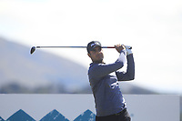 Shubhankar Sharma (IND) on the 11th tee during Round 2 of the Dubai Duty Free Irish Open at Ballyliffin Golf Club, Donegal on Friday 6th July 2018.<br /> Picture:  Thos Caffrey / Golffile
