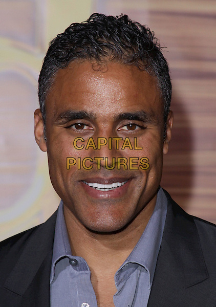 "RICK FOX .""Tangled"" Los Angeles Premiere held at the El Capitan Theatre, Hollywood, California, USA, 14th November 2010..portrait headshot smiling blue shirt .CAP/ADM/CH.©Charles Harris/AdMedia/Capital Pictures"