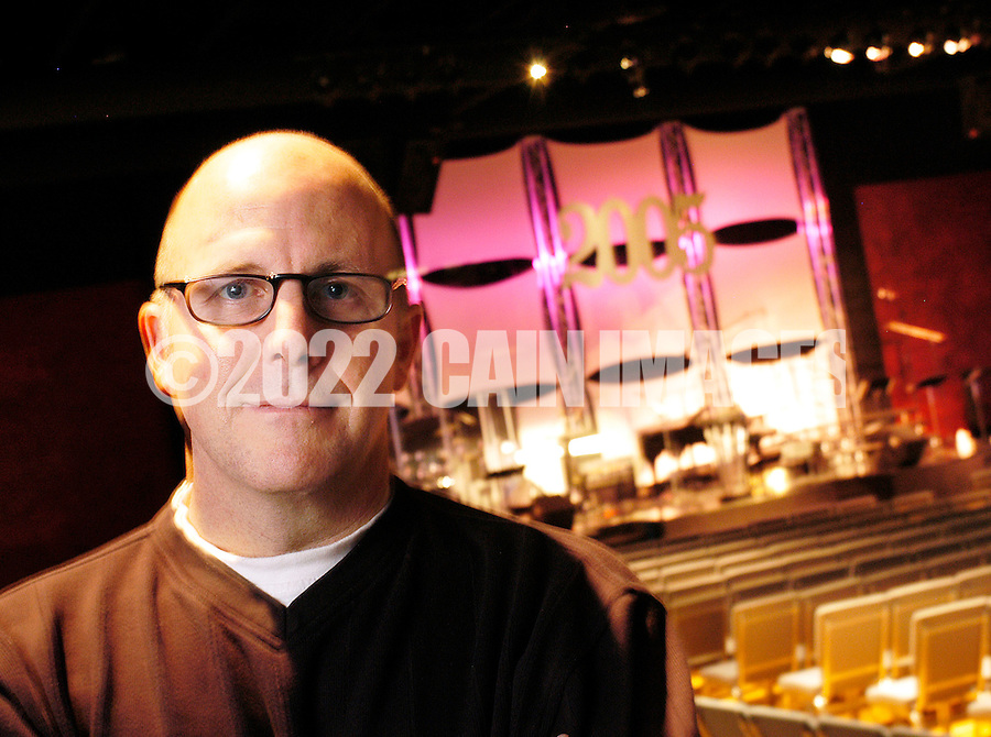 ALLENTOWN, PA - JANUARY 20:  Pastor Randy Landis poses in his Lifechurch January 20, 2005, in Allentown, Pennsylvania. (Photo by William Thomas Cain)