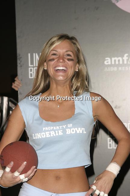 Hayden Elizabeth <br />Lingerie Bowl Kicks Off With a Star Studded Practice <br />Jackie Robinson Stadium<br />Los Angeles, CA, USA<br />December 2, 2003 <br />Photo By Celebrityvibe.com /Photovibe.com