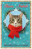 Isabella, CHRISTMAS ANIMALS, WEIHNACHTEN TIERE, NAVIDAD ANIMALES, paintings+++++,ITKE543029-ALE,#xa#