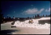 Plowing snow at Cumbres Pass<br /> D&amp;RGW  Cumbres, CO