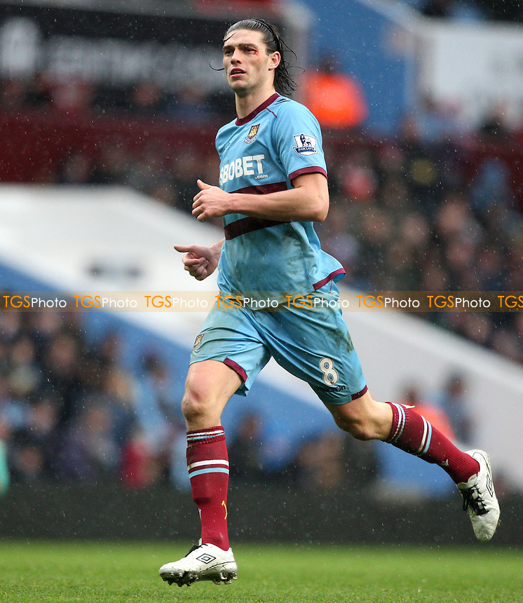 Andy Carroll of West Ham - Aston Villa vs West Ham United, Barclays Premier League at Villa Park - 10/02/13 - MANDATORY CREDIT: Rob Newell/TGSPHOTO - Self billing applies where appropriate - 0845 094 6026 - contact@tgsphoto.co.uk - NO UNPAID USE.